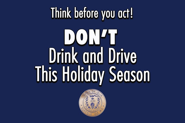 Don't Drink and Drive This Holiday