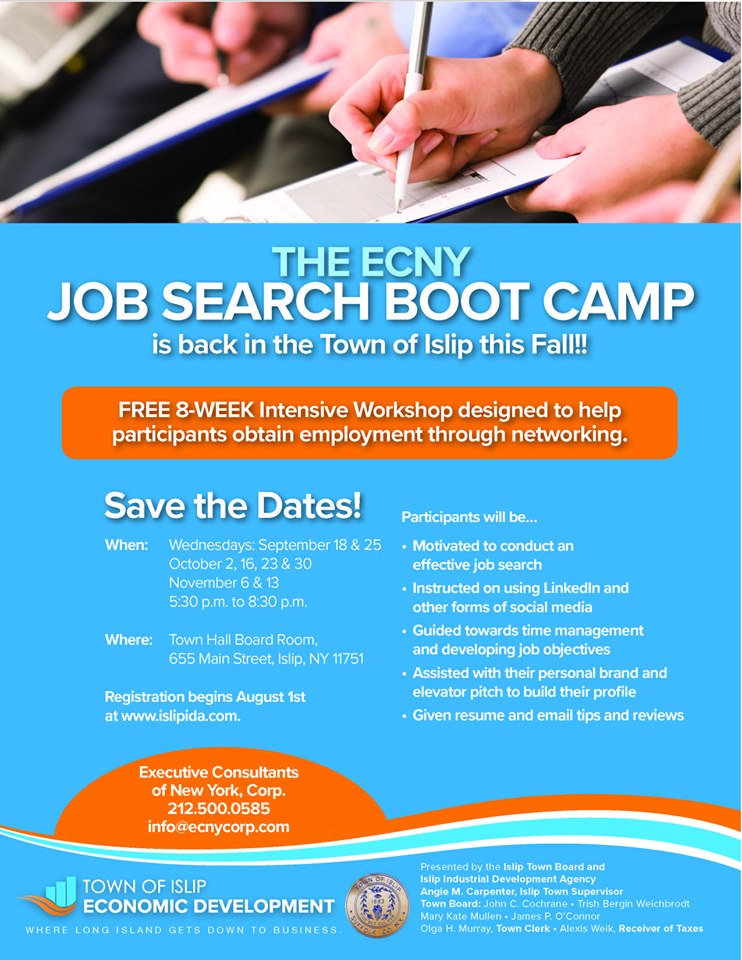 Fall ECNY Job Search Boot Camp
