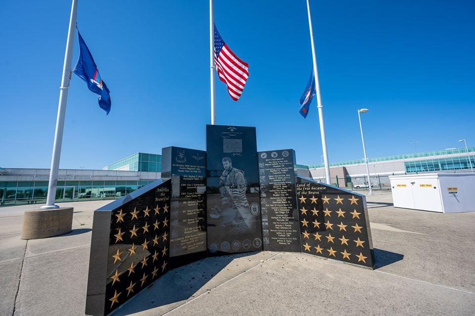 Memorial to US Troops and those who honor them