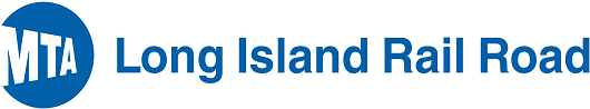 "LIRR's logo reading ""MTA Long Island Rail Road"""