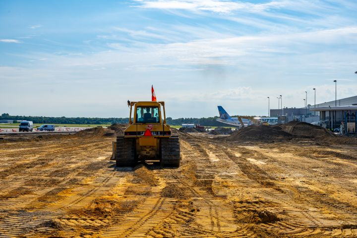 Decades-Old Airport Apron Gets $8M Rehabilitation