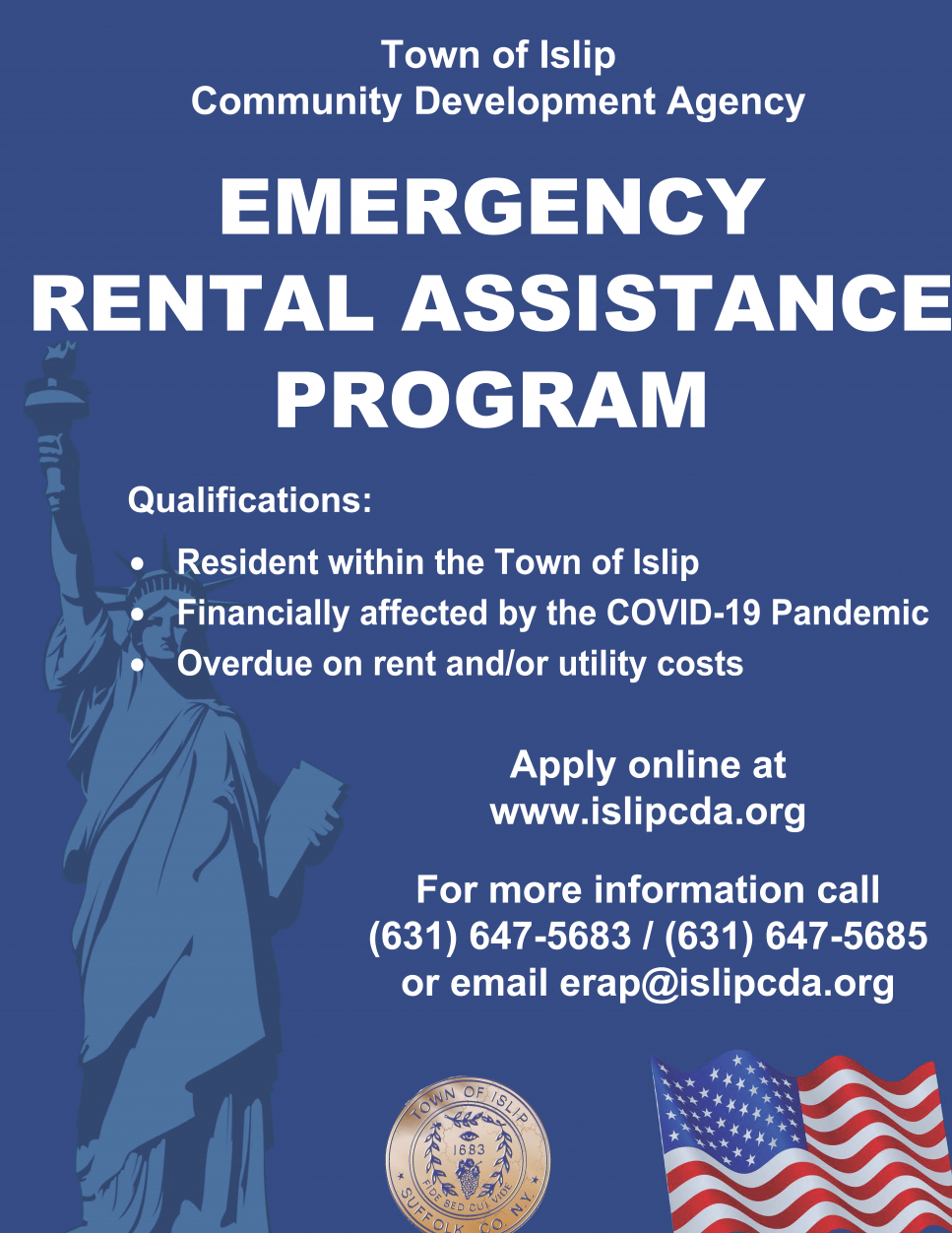 English Rental Assistance Flyer