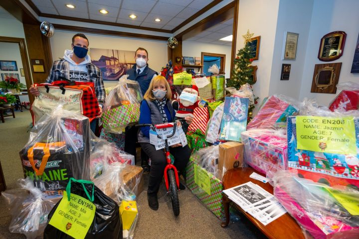 Town Gifts 60 Salvation Army Angels This Holiday Season