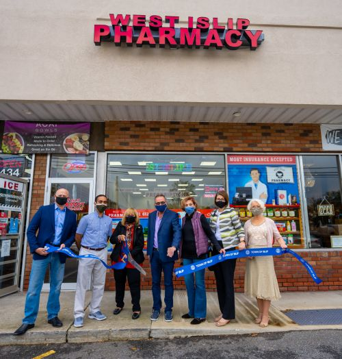 west islip pharmacy ribbon cutting