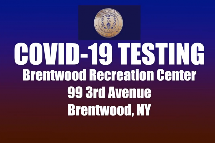 Covid-19 Testing Site at Brentwood Rec Center